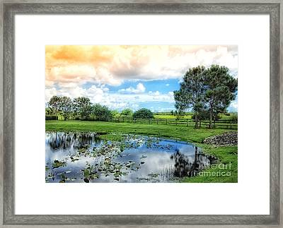 Framed Print featuring the photograph As Time Passes by Gina Cormier