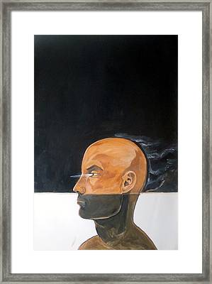 Framed Print featuring the painting As Vapor Gutural by Lazaro Hurtado