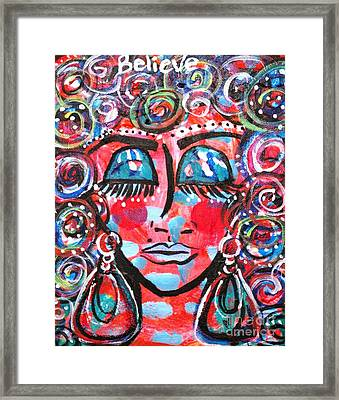 As Within So Without Framed Print by Ifeanyi C Oshun