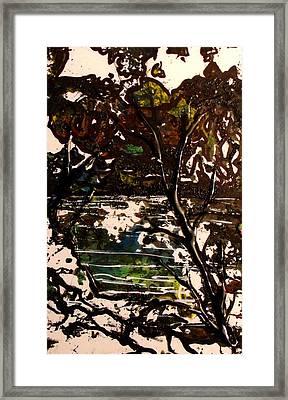 Asain Tree Framed Print