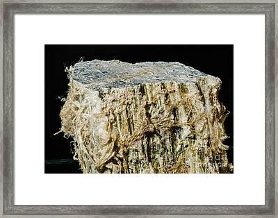 Asbestos Framed Print