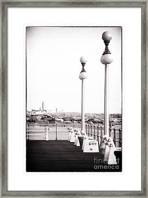 Asbury In The Distance Framed Print