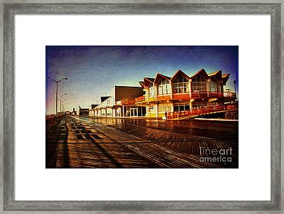 Asbury In The Morning Framed Print by Debra Fedchin