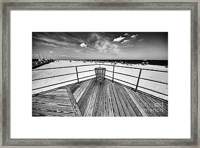 Asbury Lookout Framed Print by John Rizzuto