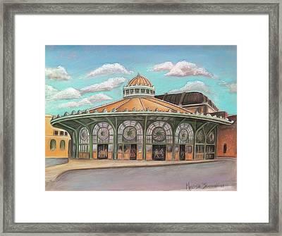 Asbury Park Carousel House Framed Print