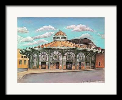 Asbury Park Carousel Paintings Framed Prints