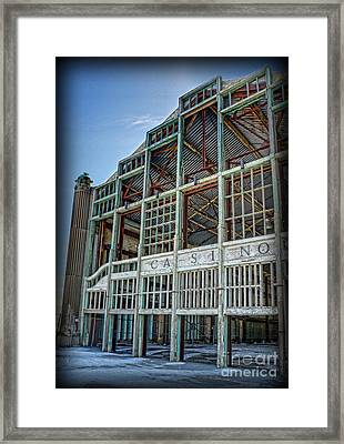 Framed Print featuring the photograph Asbury Park Casino And Carousel House by Lee Dos Santos