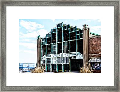 Asbury Park Casino - My City In Ruins Framed Print by Bill Cannon