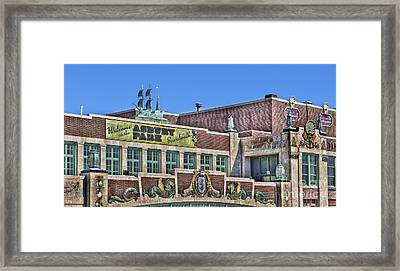 Asbury Park Convention Hall And Paramount Theatre  Framed Print by Lee Dos Santos