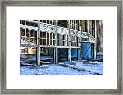 Asbury Park Nj Glory Days Framed Print