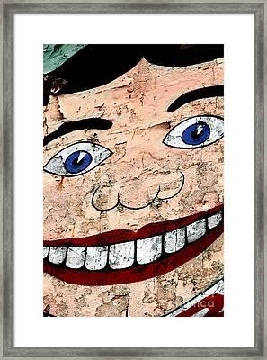 Asbury Tillie Framed Print by John Rizzuto