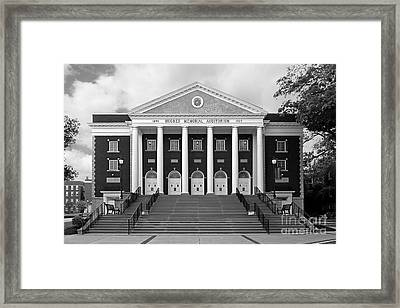 Asbury University Hughes Memorial Auditorium Framed Print by University Icons