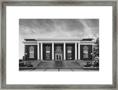 Asbury University Morrison Hall Framed Print by University Icons