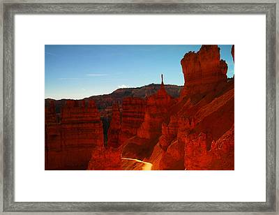 Ascending Out Of Bryce Framed Print