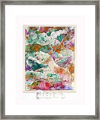 Ascending Praise Framed Print