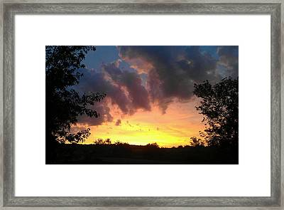 Ascension Framed Print by Dawn Vagts