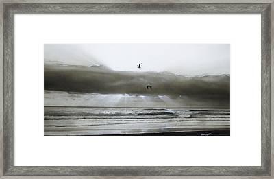 Ocean - ' Ascension II ' Framed Print