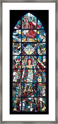 Ascension Framed Print by Marc Huebner