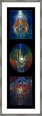 Ascension Of The Soul Framed Print by Kd Neeley