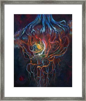 Ascension Of The Soul Part I Framed Print by Kd Neeley