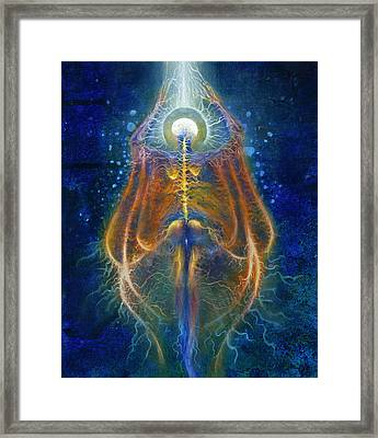 Ascension Of The Soul Part IIi Framed Print by Kd Neeley