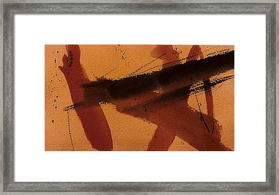 Ascension Framed Print by Richard Hinger