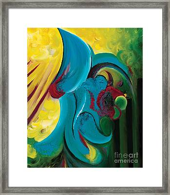 Ascension Framed Print by Tiffany Davis-Rustam