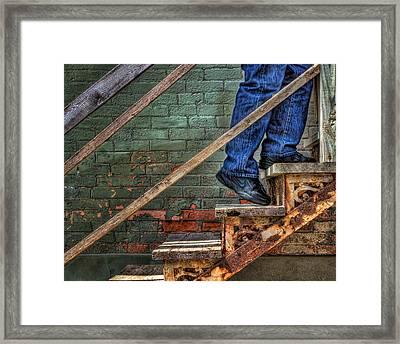 Ascent Framed Print by Nikolyn McDonald