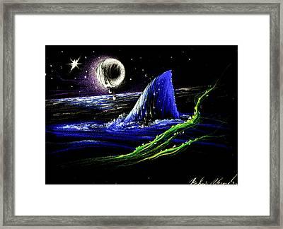 Asecho Framed Print by Ruben Santos