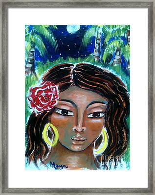 Asenath Framed Print by Maya Telford