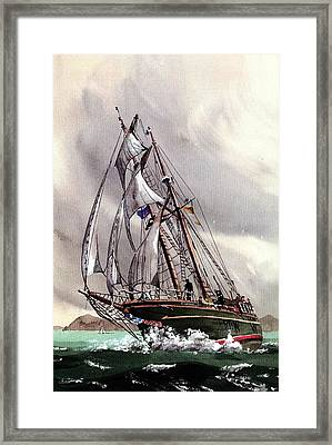 Asgard 11 With The Wind Framed Print