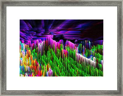 Asgard Roof Of The World Framed Print