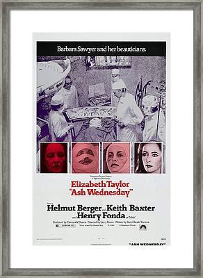 Ash Wednesday, Elizabeth Taylor Framed Print