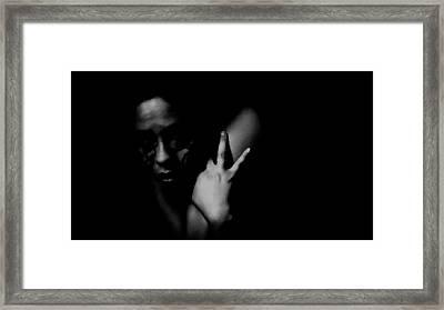 Ashamed Framed Print by Jessica Shelton