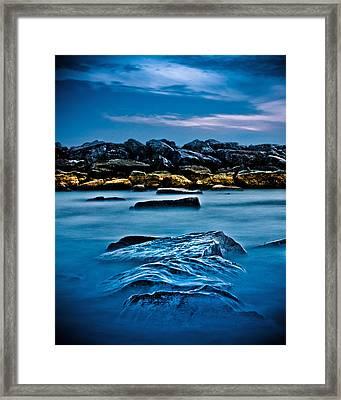 Ashbridges Bay Toronto Canada Breakwall 4 Framed Print by Brian Carson
