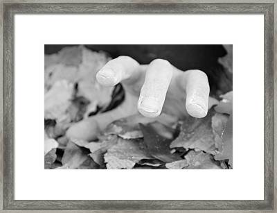 Ashes Of Another Framed Print by Brandon Davidson