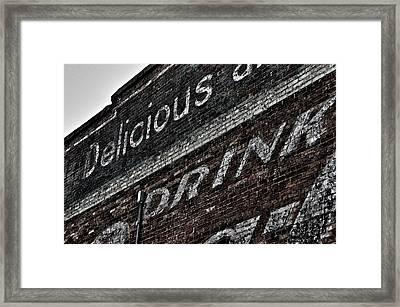Asheville Coke Series 6 Framed Print by Brandon Addis