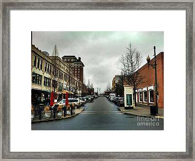 Asheville North Carolina Framed Print by Janice Spivey