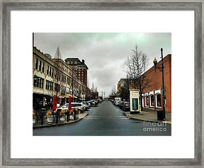 Asheville North Carolina Framed Print