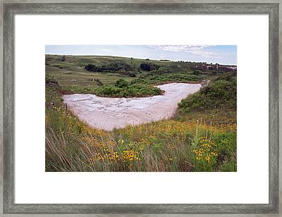 Ashfall Fossil Beds Framed Print by Jim West