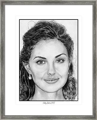 Ashley Judd In 2007 Framed Print by J McCombie