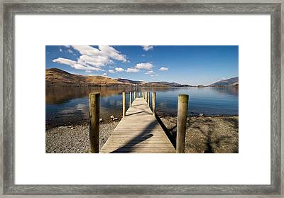 Ashness Jetty Framed Print