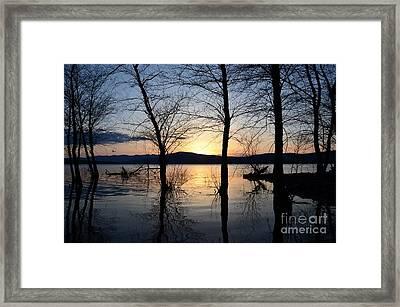 Ashokan Reservoir 43 Framed Print