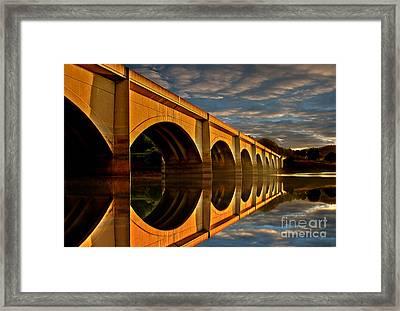 Ashopton At Sunrise Framed Print