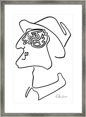 Ashraf - 1971 Framed Print