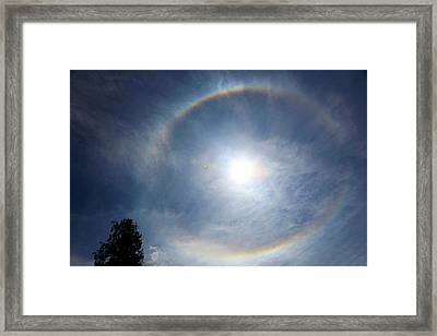 Asia, Bhutan When A Circle Appears Framed Print by Kymri Wilt