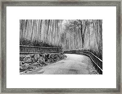 Asia, Japan, Kyoto Framed Print