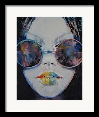 Arc-en-ciel Framed Prints