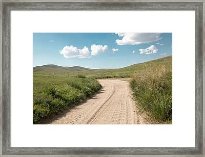 Asia, Mongolia, North Central Mongolia Framed Print by Emily Wilson