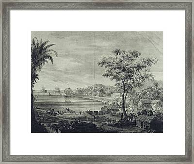 Asia. Pacific Islands. Malaspina Framed Print